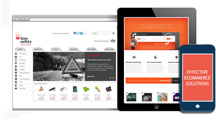 UK Ecommerce Web Design Services